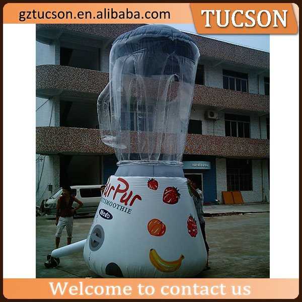 PVC inflatable customized blender promotion product model for sale