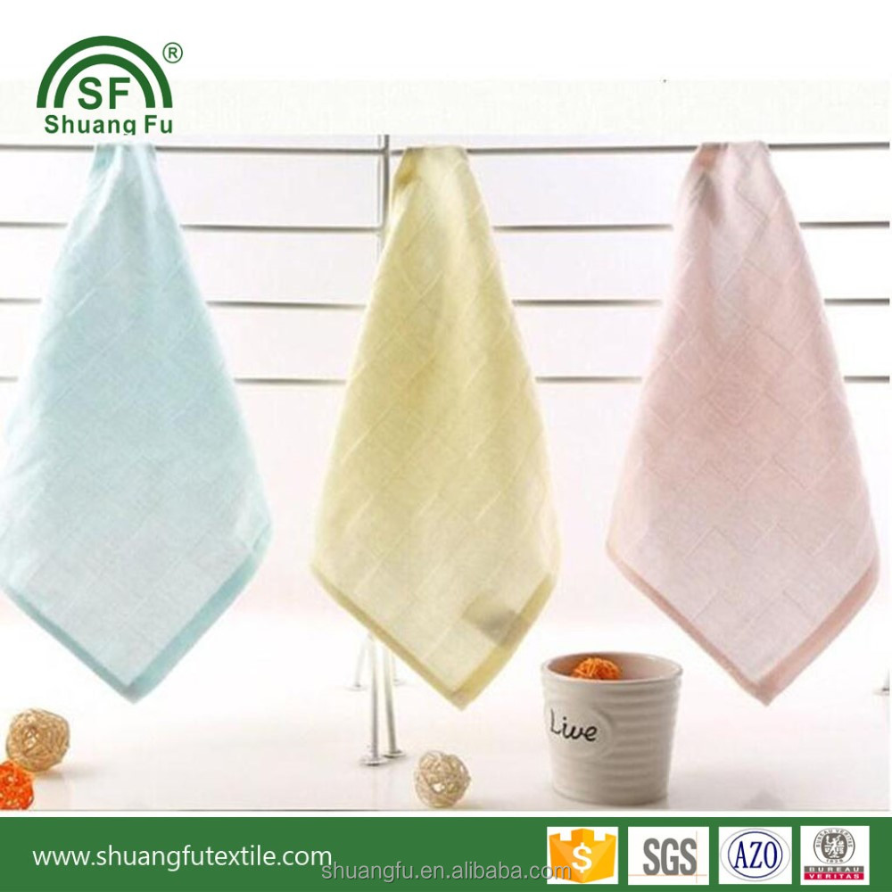 Baby products manufacture 100% cotton square muslin bandana