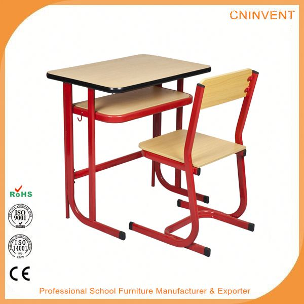 Factory Supply custom design modern school desk and chair for sale