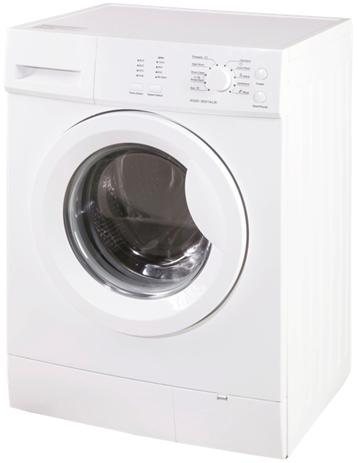 6-8kg Front Load Clothes Washer Laundry Washing Machine With Light Shows