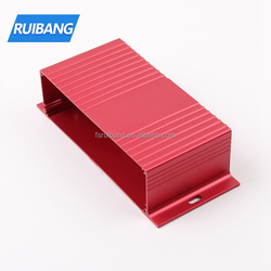 Color anodized extruded aluminum electronic enclosures custom made high quality aluminum case enclosure