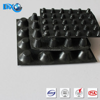 Green roof sheet dimple drainage board for roof garden