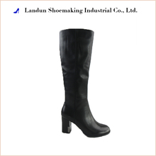 China shoes factory supply sex ladies choice sexy high heel winter rubber sole leather boots women