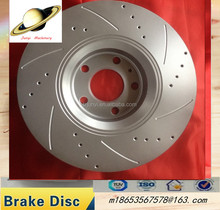drilled slotted disc brake rotor brake parts system, auto spare parts