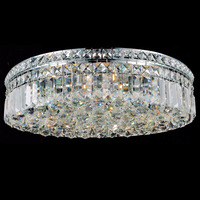 Indoor decorative modern crystal ceiling light