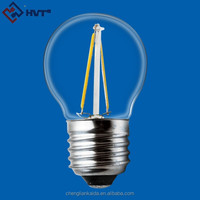 Alibaba China Supplier E27 Dimmable LED Filament Bulb G80