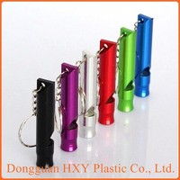 HXY Factory direct sale classic round air horn keychain