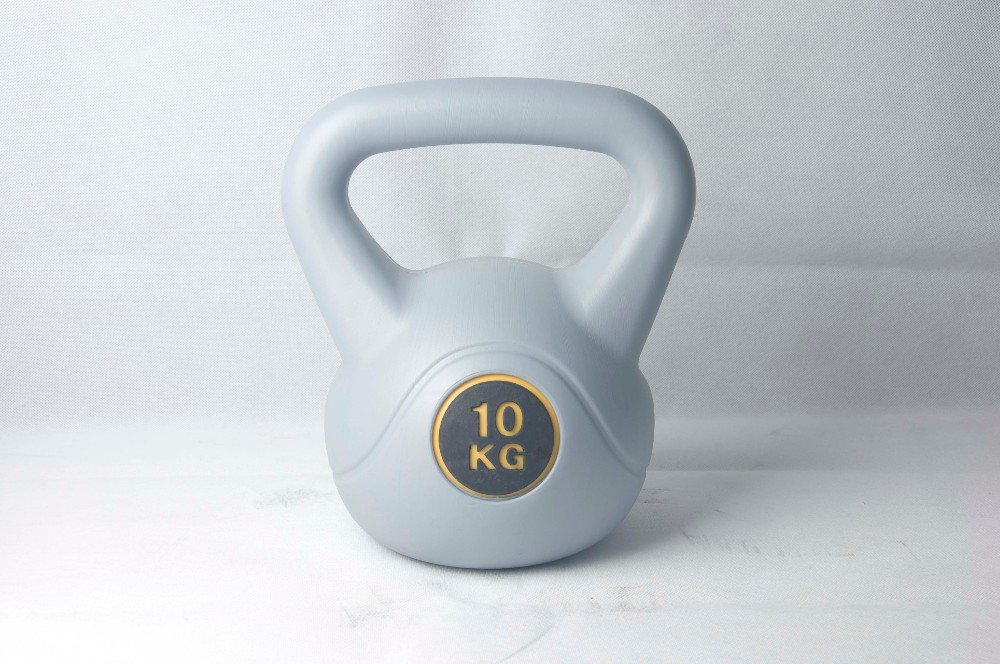 kettle bell , weight lifting , cement kettlebells