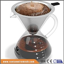 cone brewer pour over coffee dripper