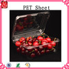 Environmental Friendly pet plastic sheet for tray in roll