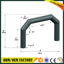 Best price sport arch,inflatable race arch,inflatable arch door