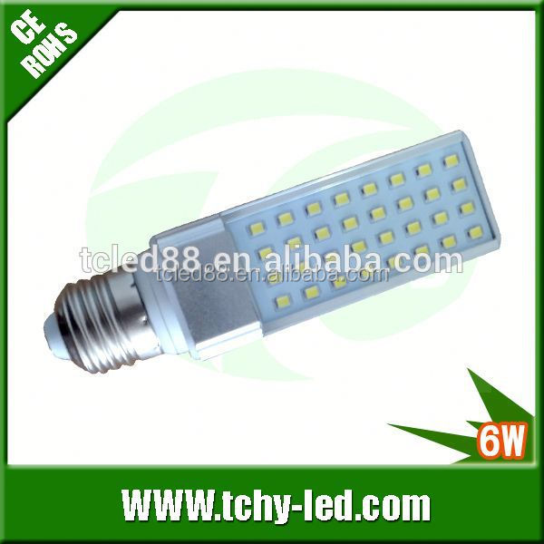 New arrival g23 g24 led pl lamp replacement cfl 11w with AC 85-265V