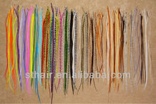 real rooster feather hair extension/ feather hair extension