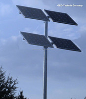 Solar power supply set for surveillance cameras made in Germany