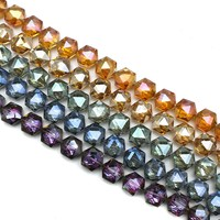 guangzhou beads manufacturers crystal faceted rondelle beads