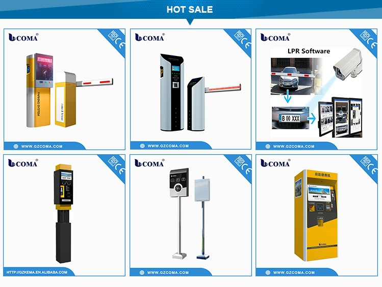 Parking Access Control System Barcode Ticket Dispenser Car Parking System