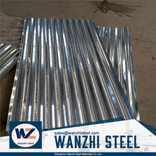 Construction material aluminium zinc corrugated color coated steel roofing sheet