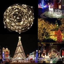 Outdoor decorative LED string hanging tree light LED Copper Wire String Lights Fairy Lights