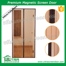 Durable Magnetic Screen Door Lowes with Top Frame Sewn As A Whole