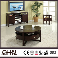 High quality furniture CT399 chinese wooden carved tea table made in China