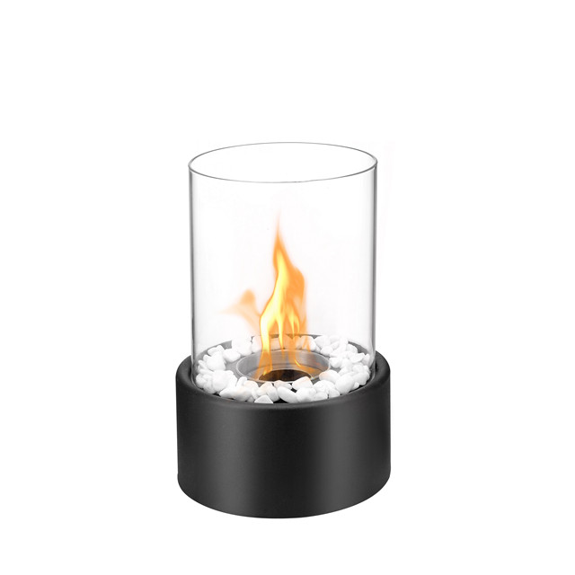 indoor moving free standing bioethanol table fireplace