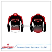 pro team design winter sublimation Windproof cycling bike Jacket ,reliable factory sublimation wind cycling bike jacket