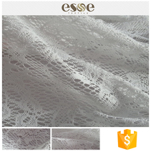 Bulk sale fashion women garments polyester dress making lace fabric