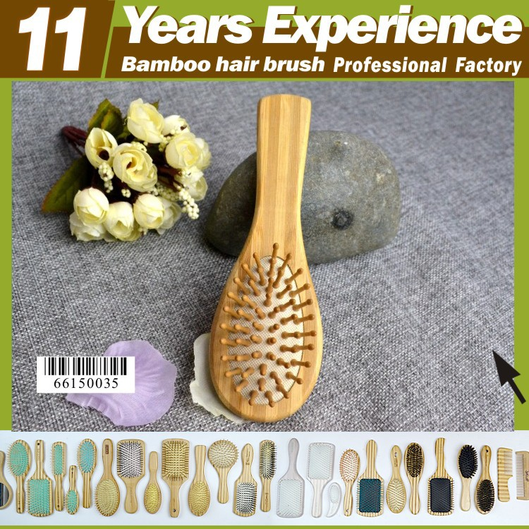 2017 trends product private label hot sales Eco-Friendly bamboo mini hair brushes