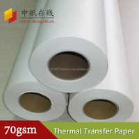 Eco-friendly Coating Sublimation Paper Used In Heat Transfer Printing
