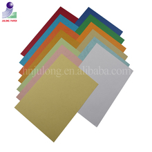 leatherette paper/leather texture grain paper for binding cover/file folder