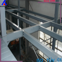 Q235 steel heavy duty metal mezzanine floor