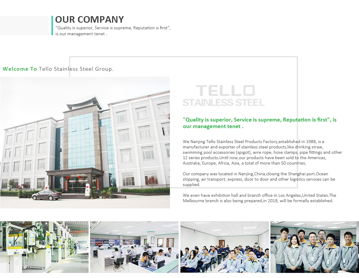 Nanjing Yuhuatai Tello Stainless Steel Products Factory - stainless ...