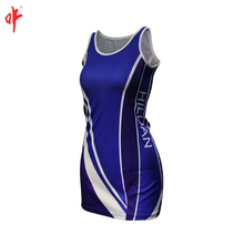 NO MOQ netball dresses , bespoke sublimation women tennis dress