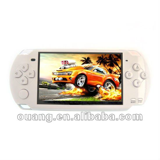 4.3 inch fashion 32bit video portable game player