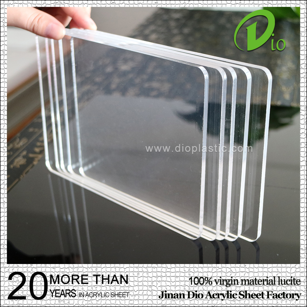 transparent cast plastic plexiglass pmma acrylic sheet price