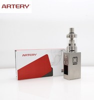 New Artery authentic vv vw mod 50W not disposable ecig Artery vapor Gold Rush Kit