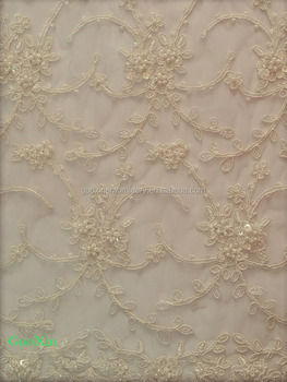 2014 wedding lace fabric for wedding dress