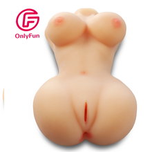 Sexy pussy for man plastic women sexy toys pussy real feeling pussy Half body sexy doll
