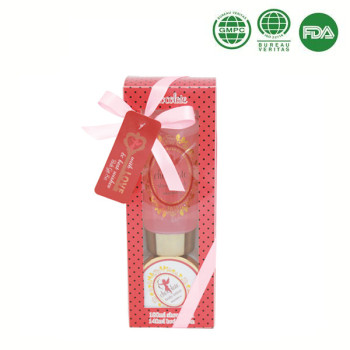 Private label Christmas gift sets body lotion