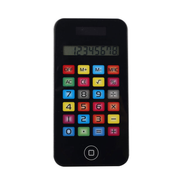 Iphone Shape Touch Screen Pocket Calculator with Colorful Button