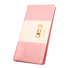 Stand Function and Credit Slots Leather Case for Iphone 8