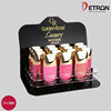2016 New style Golden Rose Luxury rich color lipgloss display stand R160835