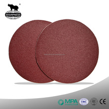 Sharpness Aluminum Oxide Sticky Sanding Disc/Velcro Sanding Disc For Wood Furniture