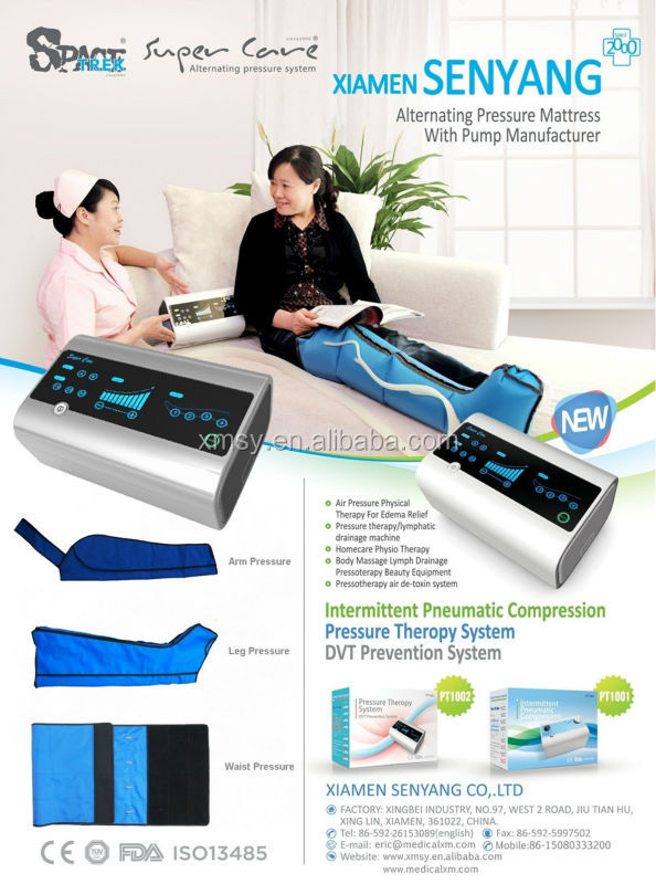 lymphedema pump sequential compression device PT-1002