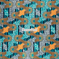 Item No.066983 Factory price direct sale latest design ethiopia super vasco wax printed fabric