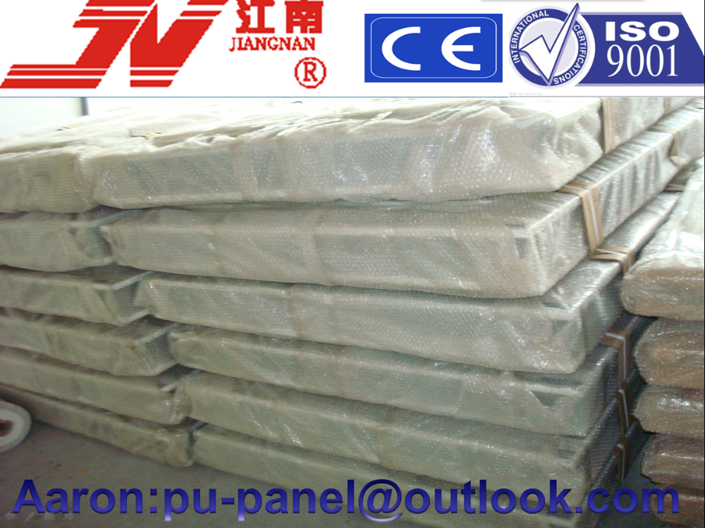 polyurethane steel sandwich panel ,insulation wall panels ,PVC Sandwich panel