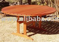 WOODEN PATIO/GARDEN FURNITURE