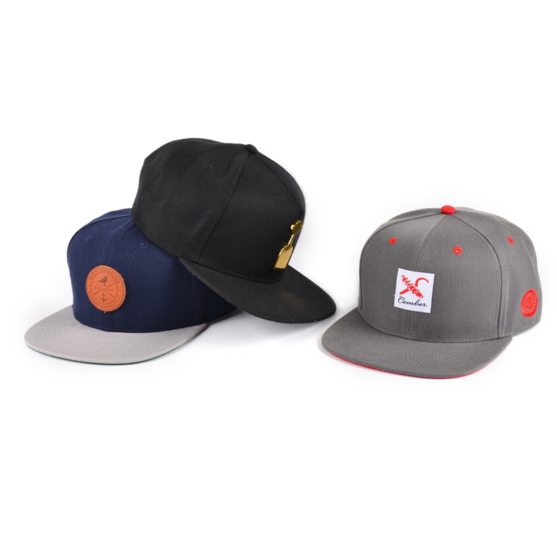 Yupoong cap custom snapback with your own logo,patch logo custom snapback hat