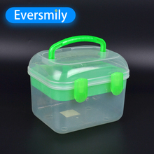 Durable plastic cheap plastic storage boxes with interlock lid
