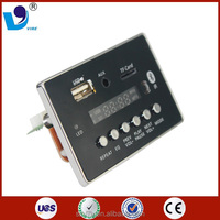 pcba custom design usb sd bluetooth mp3 audio module fm radio
